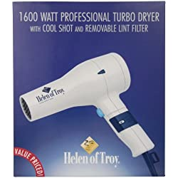 HOT TOOLS 6097 Turbo Styling Dryer, White