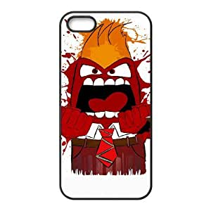 iPhone 4 4s Cell Phone Case Black SPLASHING ANGRY L7O2VS