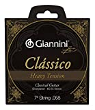 : Giannini Classical Series 7th String (Single, High, 85/15, Bronze .058)