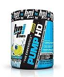 BPI Sports Pump HD Pre-Training Power and Energy Fuel Powder, Blueberry Lemon Freeze, 8.8 Ounce