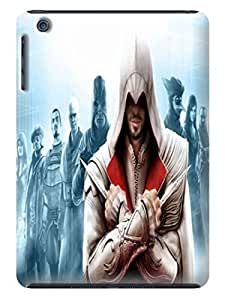 The best selling shock absorption bumper tpu cases/cover with texture for ipad mini of Assassin's Creed in Fashion E-Mall