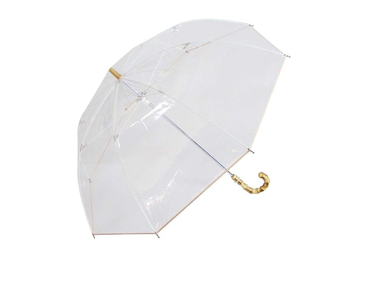 ホワイトローズ シンカテールクラシック 長傘 手開き 8本骨 65cm 日本製 グラスファイバー骨 耐風傘 [正規代理店品] B00KVBNTWO