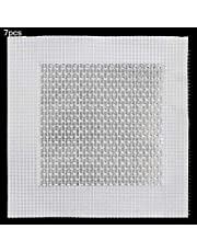 DXLing 7PCS Aluminum Wall Repair Patch 10 x 10cm Self Adhesive Screen Patch Repair Adhesive Sticky Mesh Wall Patch Wall Hole Repair Patch for Fixing Holes and Cracks in Plasterboard Walls and Ceiling