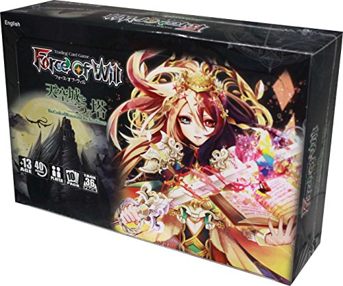 Force of Will FOW TCG Trading Card Game: G2 Castle Of Heavens & The Two Towers Booster Box ENGLISH Version - 36 booster packs of 10 cards each ()