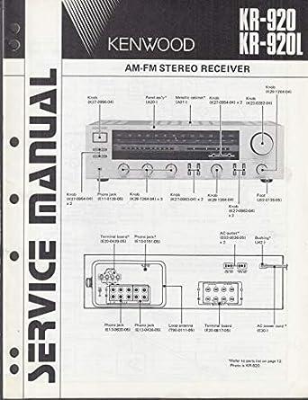 ORIGINAL Service Manual: Kenwood KR-920 KR-920L AM/FM Stereo ... on alpine wiring diagram, sony wiring diagram, jensen wiring diagram, clarion wiring diagram, nissan maxima audio wiring diagram, ge wiring diagram, jvc wiring diagram, concord wiring diagram, lincoln wiring diagram, columbia wiring diagram, panasonic wiring diagram, jackson wiring diagram, samsung wiring diagram, reading wiring diagram, apple wiring diagram, jl audio wiring diagram, fisher wiring diagram, pioneer wiring diagram, hayward wiring diagram, rca wiring diagram,