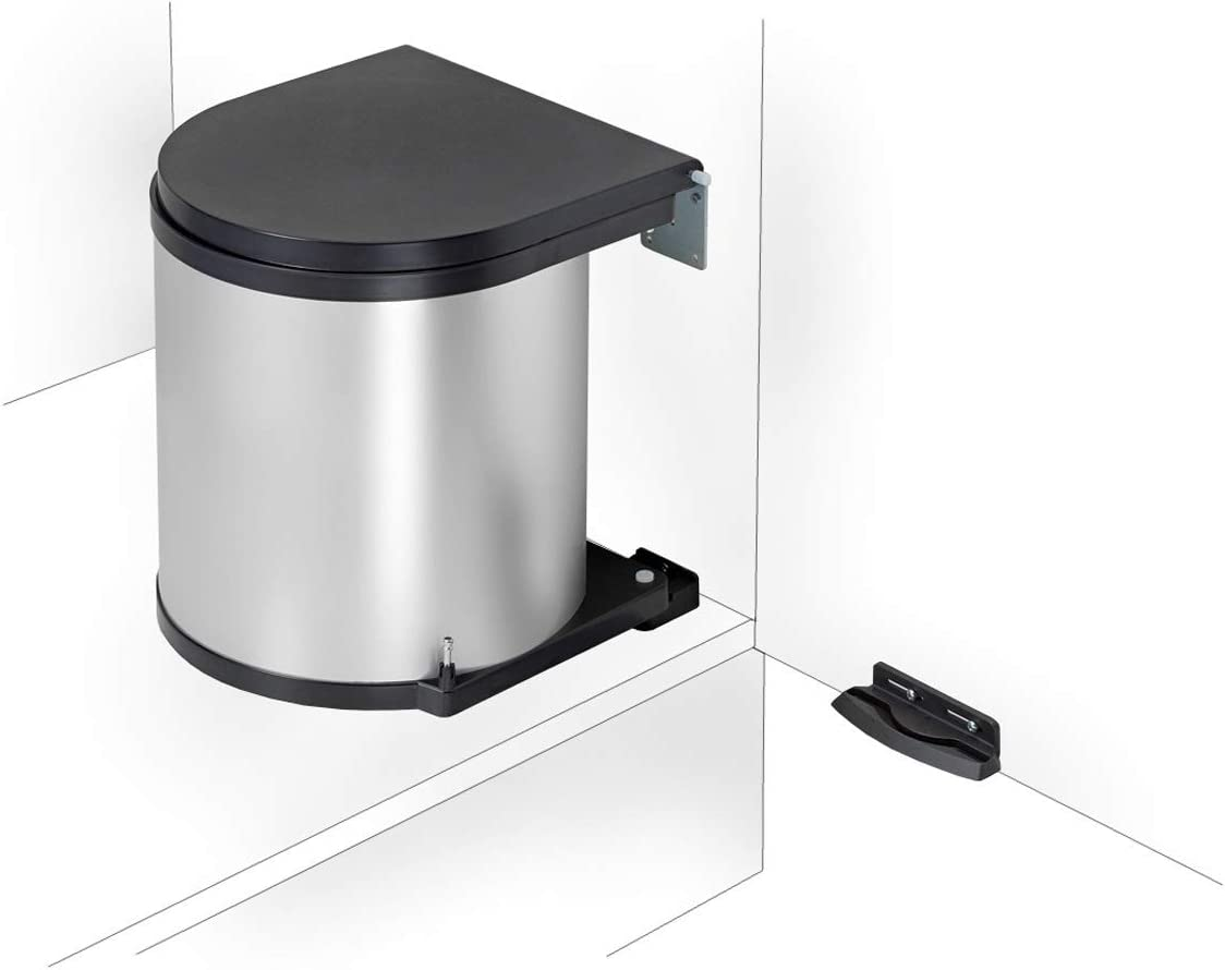 Einbau Abfallsammler Rund - Ideal für große Küchen | Mülltrennung mit Abfallguru