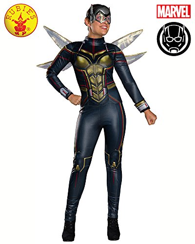 Secret Wishes Women's Marvel: Ant-Man Deluxe Wasp Costume, As Shown, (Wasp Movie Costume)