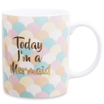 Mermaid Cute Teacups Women Gift Ceramic Mugs For Coffee Mug rBdxCoeW
