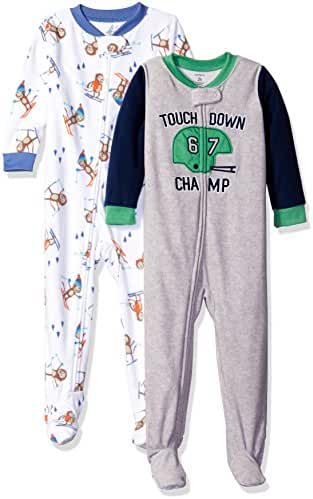 Carter's Baby Boys' 2-Pack Fleece Pajamas