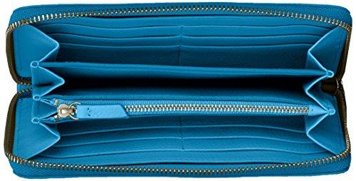 Portefeuilles nbsp; Caroline Fossil Geldbörse Damen Bleu blue Rfid 7ax7wX