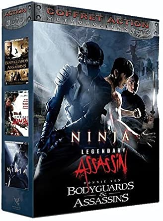 Coffret Action : Ninja + Legendary Assassin + Bodyguards ...