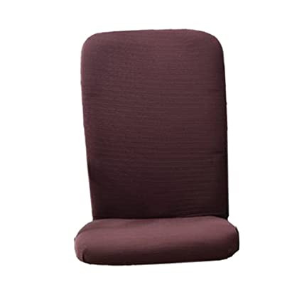 buy magideal swivel computer chair cover stretch office armchair