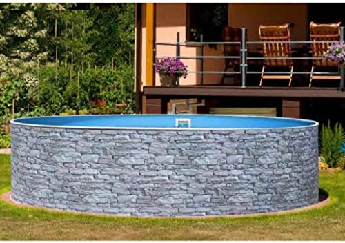 Mountfield AZURO Vario Stone V1 - Piscina de Pared de Acero ...