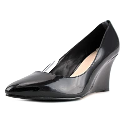 Cole Haan Womens Lena Wedge 75 II Pointed Toe Wedge Pumps Black Size 10.0