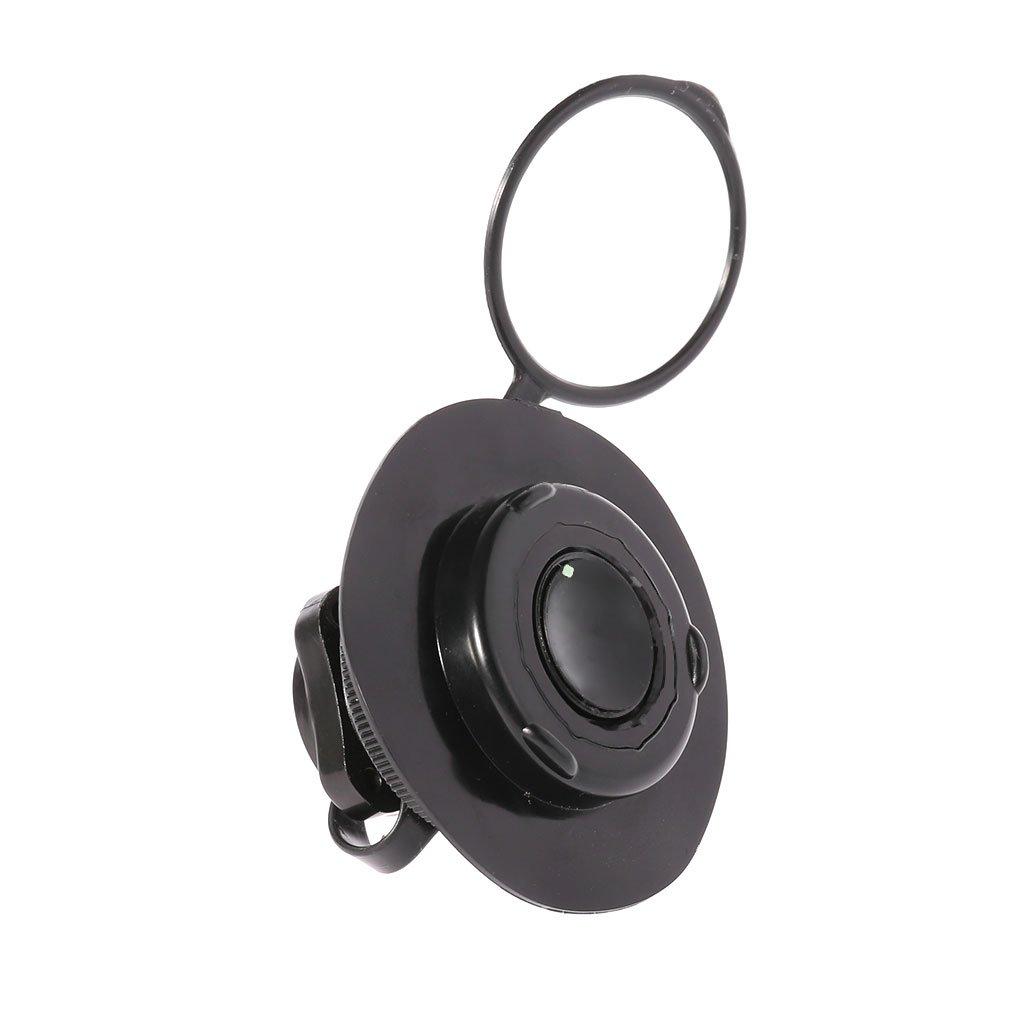 Zohong - Tapones de Válvula de Aire para Exterior de Barco Hinchable, Color Negro
