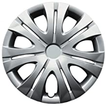 "Drive Accessories KT-1012-16S/L, Toyota Corolla, 16"" Silver Replica Wheel Cover, (Set of 4)"