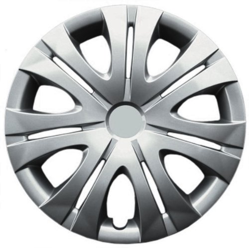 Drive Accessories KT-1012-16S/L, Toyota Corolla, 16'' Silver Replica Wheel Cover, (Set of 4)