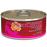Cheap Soulistic Moist & Tender Duck Dinner in Gravy Wet Cat Food, 5.5 oz, Case of 8, 8 X 5.5 OZ