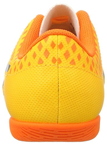 Puma Unisex-Kinder evoPOWER Vigor 4 IT Jr Fußballschuhe Orange (Ultra Yellow-Peacoat-Orange Clown Fish 03)