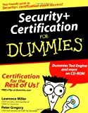Security+ Certification For Dummies (For Dummies (Computers)), Miller, Peter H. Gregory CISA  CISSP, 076452576X