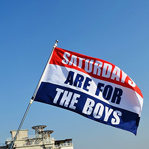 Saturdays Are For The Boys Flag   3X5 Ft Banner 90X150 Cm Sport Outdoor Flag College Fraternity Banner  Boys Flag