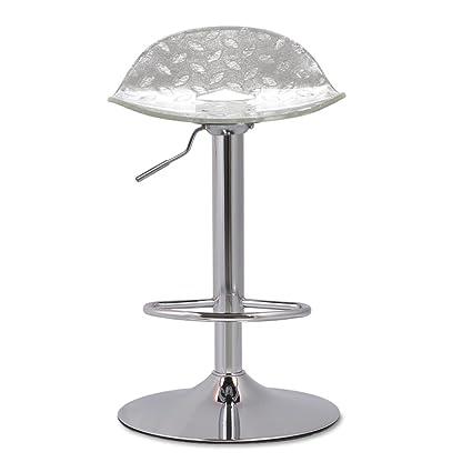 Amazon com: bar stool Feifei Metal + Acrylic Sheet Modern