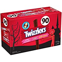 TWIZZLERS Licorice Halloween Candy, Assortment, 90 Count
