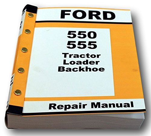 ford 550 555 workshop repair service manual full