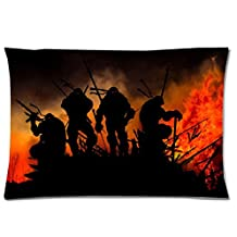 BSQJ - Teenage Mutant Ninja Turtles? zipper pillowcase 20 x 30 zipper pillow case .