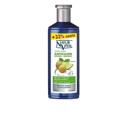 Naturaleza y Vida Champú Anticaspa Cabello Graso - 100 ml