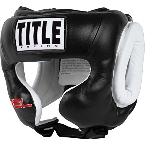 TITLE Gel World Traditional Training Headgear, Black, Large