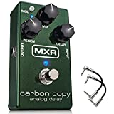 m169 carbon copy - Dunlop M169 MXR Carbon Copy Analog Delay Guitar Effect Pedal M169 with 2 patch cables
