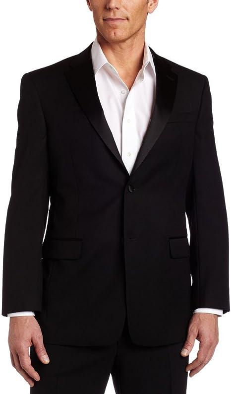 High Quality Black 100/% Wool Double Breasted Satin Notch Lapel Tuxedo Jacket