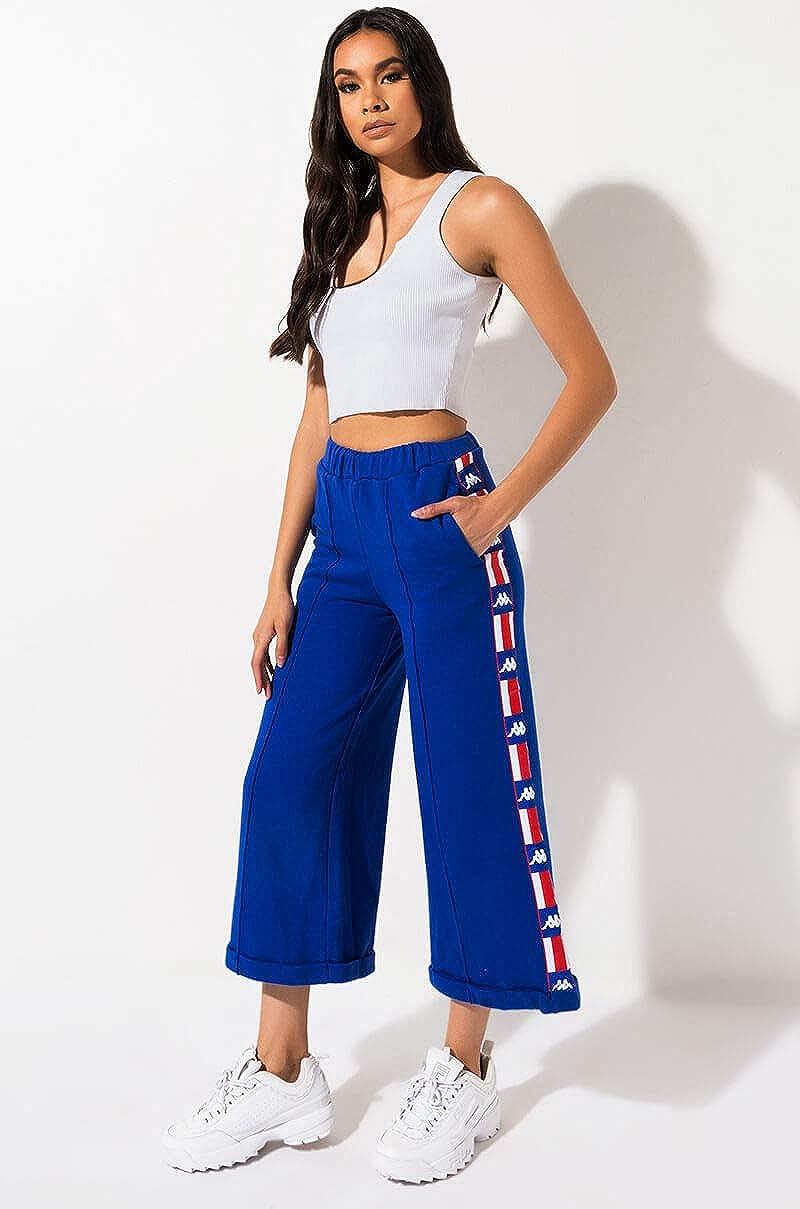 Kappa Authentic La Bedrus Culotte - Pantalones de chándal: Amazon ...