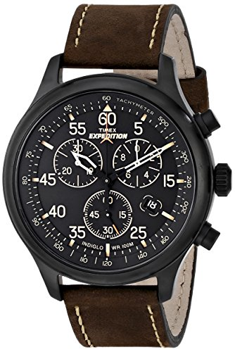 timex-mens-t49905-expedition-rugged-field-chronograph-black-brown-leather-strap-watch