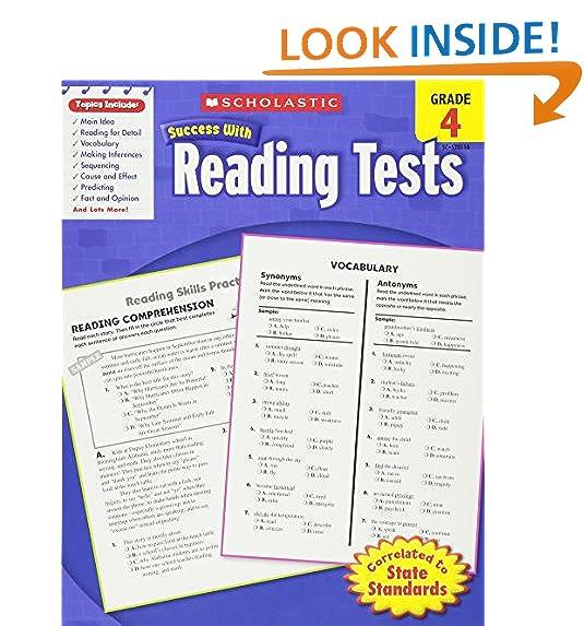 4th Grade Reading Comprehension Amazoncom