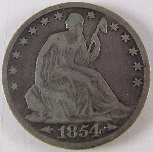 1854 O Seated Liberty Half Dollar Very Good