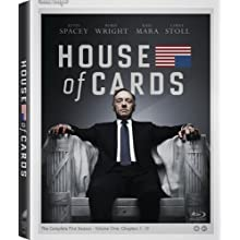 House of Cards: Season 1 [Blu-ray] (2013)