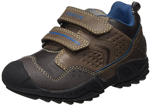 Geox J New Savage Boy A - Zapatillas para niños Marrón (Brown / DK Petrol C6F4Q)