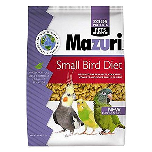Mazuri Small Bird Food, 2.5 lbs. by Mazuri