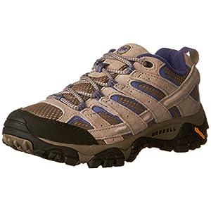 Merrell Women's Moab 2 Vent Hiking Shoe, Aluminum/Marlin, 10 M US