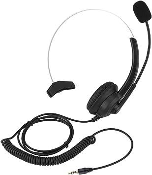 Wytino Auriculares para teléfono inalámbrico , Auriculares para Centro de Llamadas con cancelación de Ruido Cómodo Uso Sonido sin pérdida Auriculares para teléfono(#3): Amazon.es: Electrónica