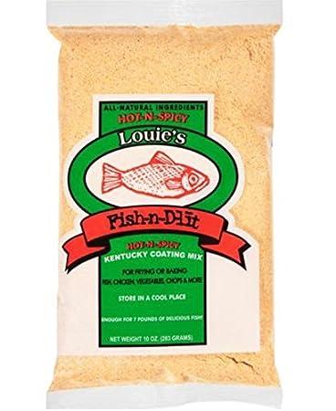 Amazon.com : Louies Fish-n-D-lit (Original) 10 oz : Grocery ...
