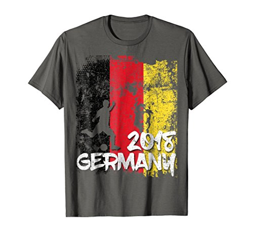 Adidas Jersey Soccer Germany (Germany Flag Soccer Cup Jersey 2018 Fan T Shirt)