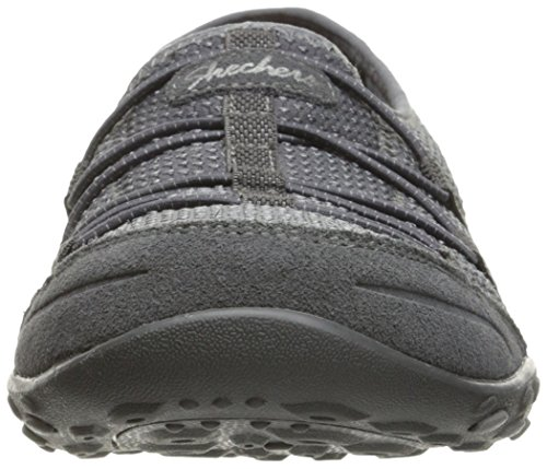 Skechers Breathe-Easy-Blithe, Zapatillas para Mujer Gris (Ccl)