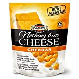 Ivanhoe Nothing But Cheese 100% Canadian Puffed Cheese Snacks, Cheddar, 57 Grams