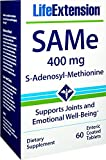 Life Extension Same S-Adenosyl-Methionine 400 Mg, 60 Enteric Coated Tablets Review