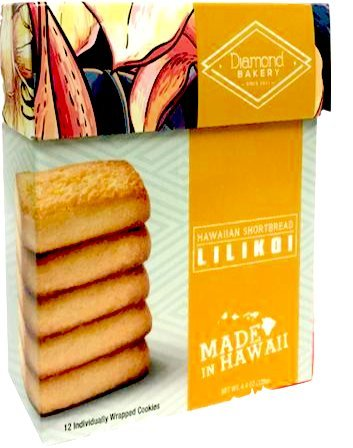 (Diamond Bakery Lilikoi Hawaiian Shortbread Cookies)