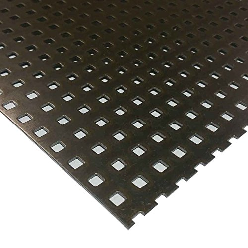 Steel Square Hole Perforated Sheet .048