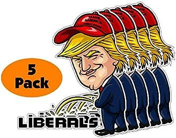 Trump 2020 ....Making America Great Again ..Vinyl Stickers Decals ..12 Pack